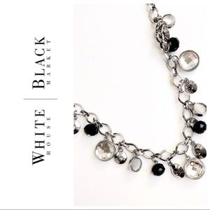 🌸WHBM Silver Charm Necklace